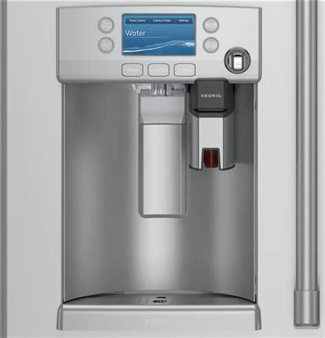 ge cafe series energy star  cu ft cyeushss counter depth french door refrigerator