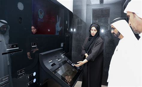 Dubai's Ruler Opens 'world's First' Smart Police Services