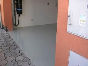 Podlaha do garáže