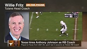 Former boss praises new Texas Longhorns RB coach Anthony ...