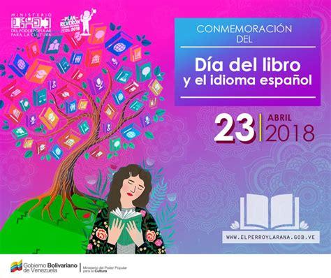 Día del libro, del idioma español y del derecho de autor ...