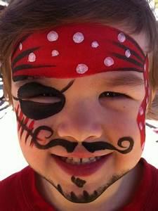 Maquillage Enfant Facile : maquillage enfant pirate ~ Melissatoandfro.com Idées de Décoration