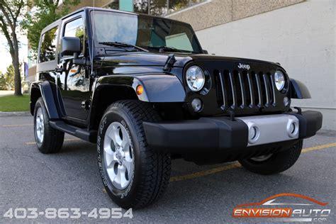 jeep sahara black 2 door 2015 jeep wrangler sahara 4 4 2 door only 3 100 kms