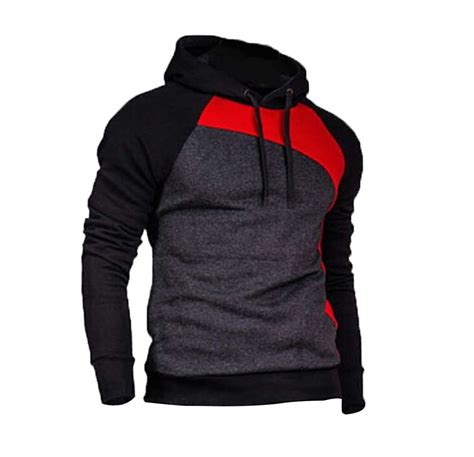 cool sweaters for guys mens boys cool fashion contrast color pullover fleece
