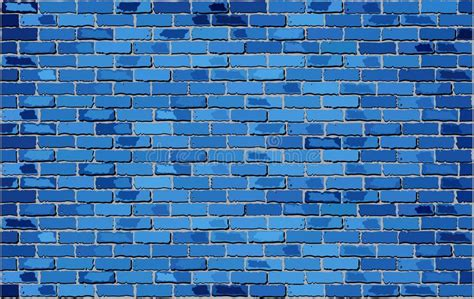 how to clean white wall blue brick wall stock vector illustration of background