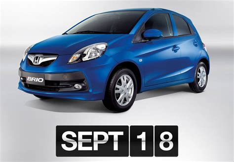 And Now, Here Is The Official Price List Of Honda Brio And