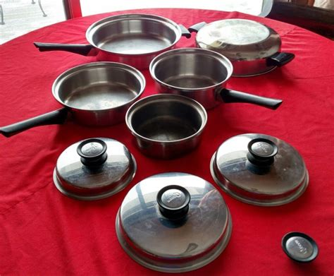 cookware queen amway pots pans stainless steel pieces