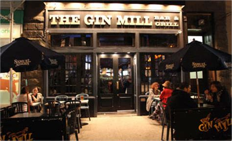 gin mill  bars happy hour specials sport bar
