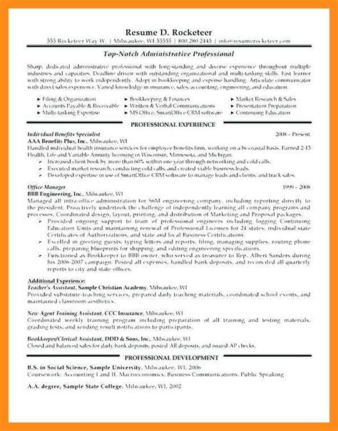 Manager Profile Resume by 11 12 Resume Profile Statement Lascazuelasphilly