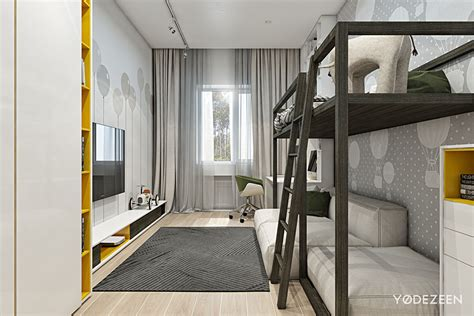 a friendly apartment design with lots of playful