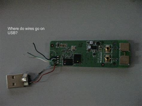 pxu1900 broken wires to usb need wiring diagram