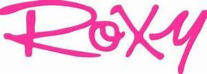 Buy A  U0026 39 Roxy Car Decal Sticker U0026 39  Sign Online