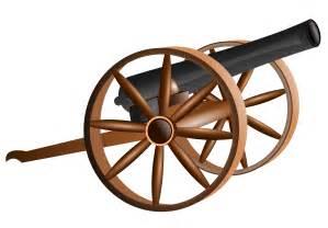 Civil War Cannon Clip Art