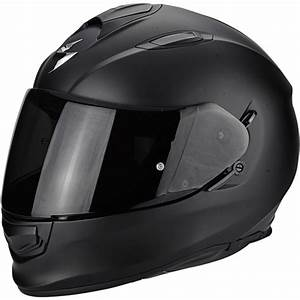 Casque De Moto : casque scorpion exo 510 air solid noir mat motovip ~ Medecine-chirurgie-esthetiques.com Avis de Voitures
