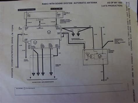 92 300d w124 radio wire id help peachparts mercedes forum
