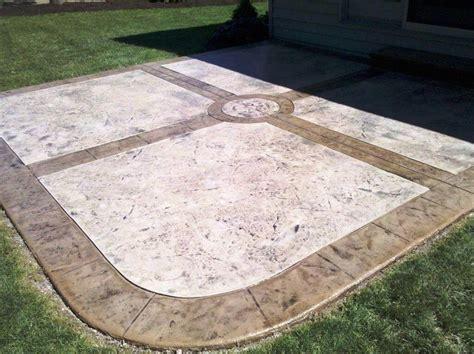 Excellent Stamped Concrete Patios — Megan Fox Decor