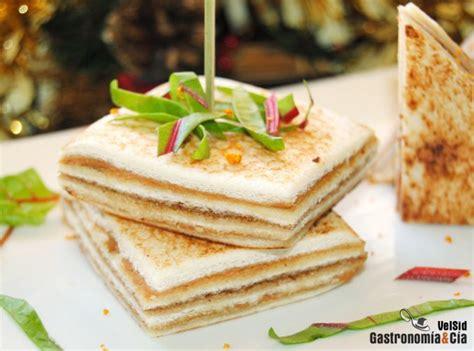 foie gras canape canapés de foie gras de oca y salsa cumberland