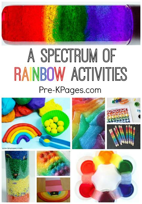 best 25 rainbow activities ideas on rainbow 702 | 812d1c9e7c1edd81dc01b10d8fd0ae8b rainbow theme preschool activities rainbow kindergarten activities