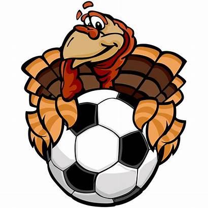 Turkey Soccer Clip Clipart Thanksgiving Vector