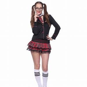 Sexy London School Uniform Costume Sexy School Girl Fancy Dress Outfit Lingerie | eBay