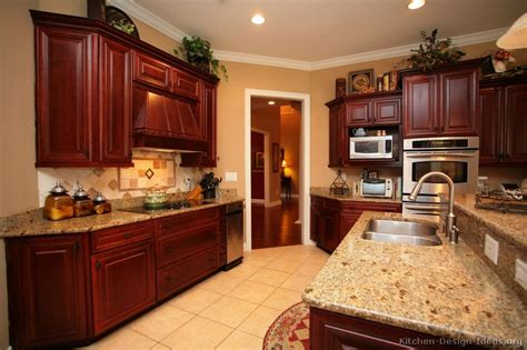 kitchen colors with dark cabinets pictures of kitchens traditional dark wood cherry