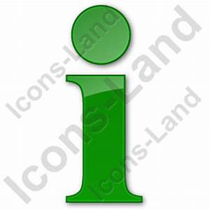 Information Plain Green Icon, PNG/ICO Icons, 256x256 ...