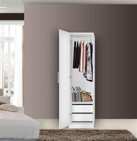 alta narrow wardrobe closet left door  interior