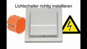 Lichtschalter Mit Licht : lichtschalter anschlie en ausschaltung youtube ~ A.2002-acura-tl-radio.info Haus und Dekorationen