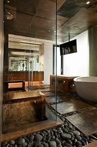 Déco Salle De Bains : 40 id es en photos comment incorporer l 39 ambiance zen ~ Melissatoandfro.com Idées de Décoration
