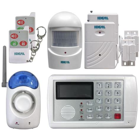 home security system wireless ideal security 7 wireless home security alarm system