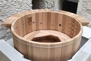 Spa Bois Exterieur : jacuzzi bois exterieur pour terrasse ~ Premium-room.com Idées de Décoration