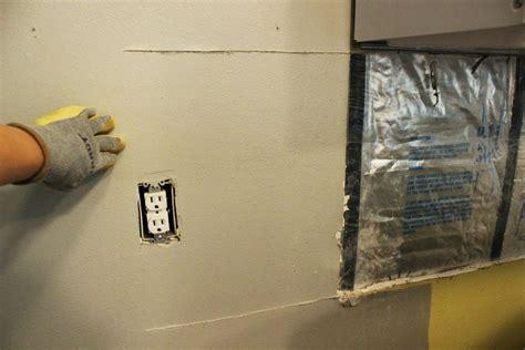 how to install kitchen backsplash on drywall how to install or repair drywall for a kitchen backsplash 9438
