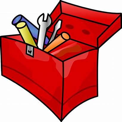 Clip Tools Toolbox Tool Clipart Box Toolkit