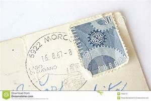 Postkarte In Die Schweiz : briefmarke helvetia die schweiz auf postkarte stockfoto bild von poststempel zeichen 7360274 ~ Yasmunasinghe.com Haus und Dekorationen