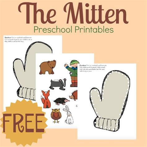 jan brett s the mitten story printable and on 979 | 1567e7e6bd527036597a96ba8cc945a2