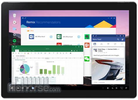 Remix Os 3.0.207 (32-bit) Download For Windows / Filehorse.com
