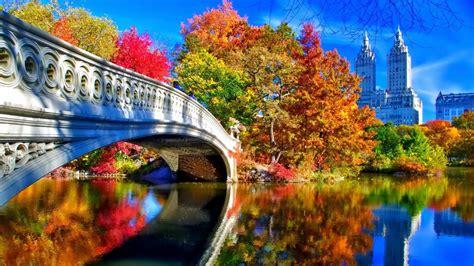 Fall Desktop Backgrounds New York autumn in new york desktop wallpaper in 1920x1080 hd