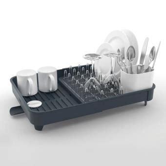 Сушилка для посуды XDRY Folding Dish Rack With Drying Mat UMBRA
