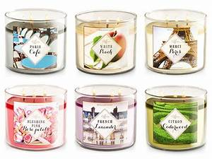 Bath & Body Works French Candle Collection home fragrance ...