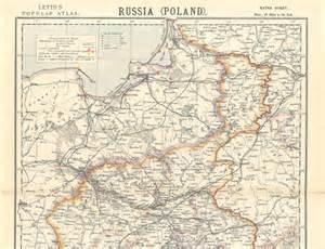 Poland Russia $1 900 Map