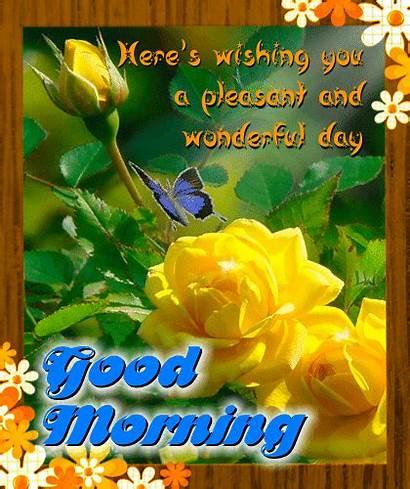 Morning Pleasant Ecard 123greetings Yellow Gifs Goodmorning