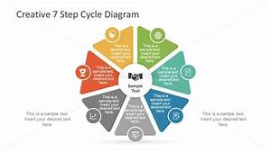 7 Step Powerpoint Diagram