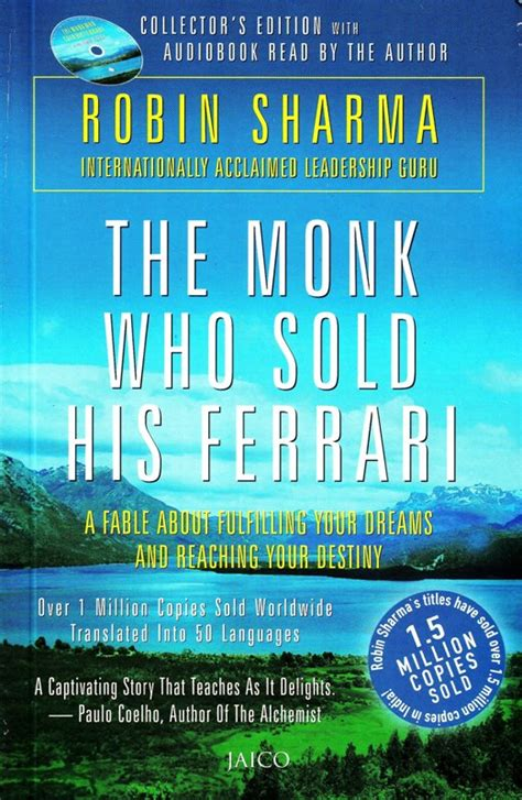 The author's #1 bestsellers such as the monk who sold his ferrari, the greatness guide and the leader who had no sharma's books such as the leader who had no title have topped bestseller lists internationally and his social media posts reach over. The Monk Who Sold His Ferrari-Robin Sharmapdf   E book ...