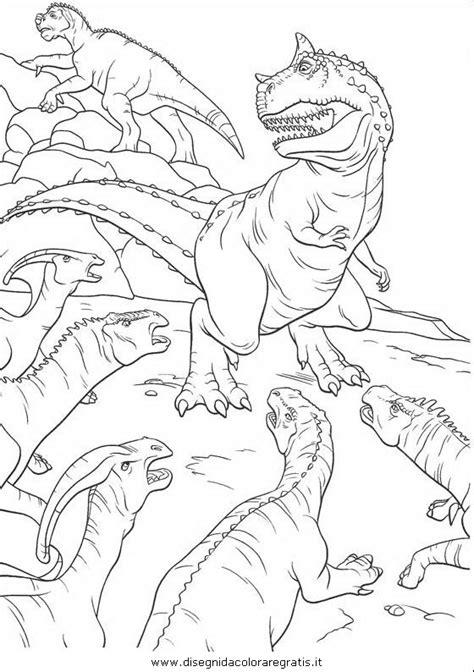 disegno dinosauri animali da colorare