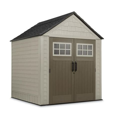 rubbermaid storage shed accessories big max rubbermaid 7 ft x 7 ft big max storage shed with