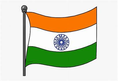 Indian Flag Clipart Pole India Clip American