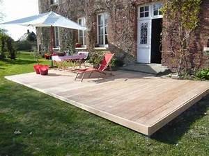 Terrasse Avec Palette : terrasse bois archives obac ~ Melissatoandfro.com Idées de Décoration