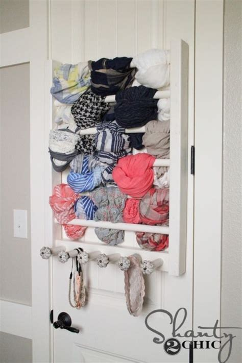 scarf storage ideas  inspire shelterness