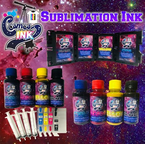 Sublimation Ink for Epson and Sawgrass Printers | Cosmos Ink®