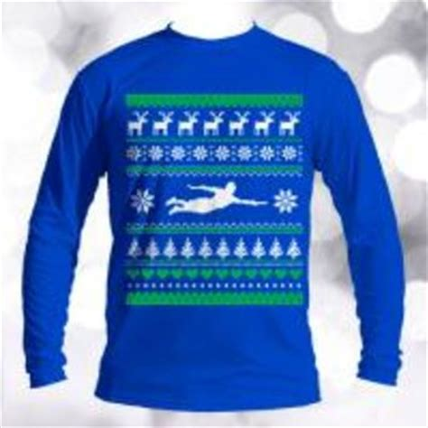 ultimate frisbee ugly christmas sweater from discstore com